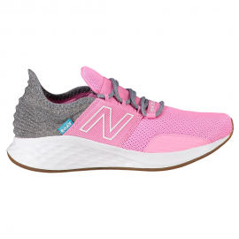 Zapatillas running New Balance Roav v1 rosa/gris junior