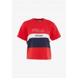 Camiseta Fila 682852 Fabya rojo/blanco mujer