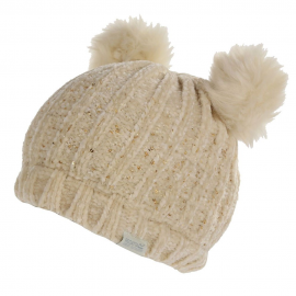 Gorro de lana Regatta Hedy Lux beige niña