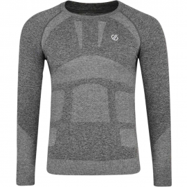 Camiseta termica In The Zone Dare 2B gris hombre