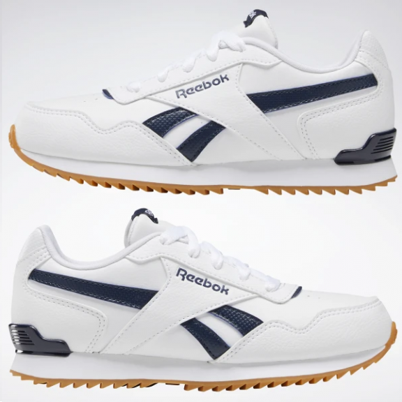 Zapatillas Reebok Royal Glide blancomarino junior