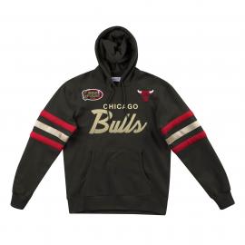 Sudadera Mitchell&Ness Champions 1996 Bulls negro hombre