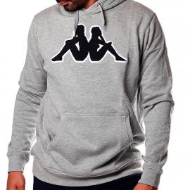 Sudadera Kappa Airiti Logo gris/negro hombre