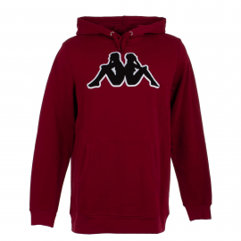 Sudadera Kappa Airiti Logo rojo/negro hombre