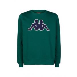 Sudadera Kappa Airivit Logo verde/azul/gris hombre