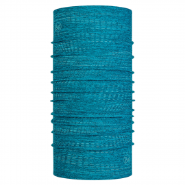 Cuello tubular Buff Dryflx reflectante azul claro unisex