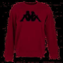 Sudadera Kappa Airivit Logo rojo/negro hombre