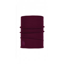 Cuello tubular Buff Heavyweight  Merino Woll morado unisex