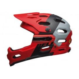 Casco Bell Super 3R Mips matte crimson-black