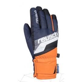 Guantes esquí Reusch Dario R-Tex azul naranja junior