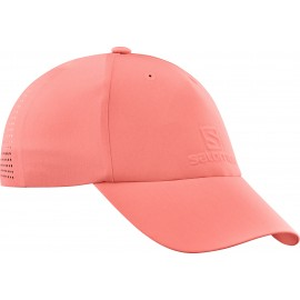 Gorra outdoor Salomon elevate coral mujer