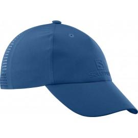 Gorra outdoor Salomon elevate logo azul hombre