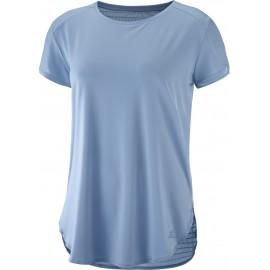 Camiseta senderismo Salomon Comet Breeze celeste mujer