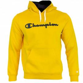 Sudadera Champion 213424 capucha amarillo hombre
