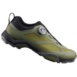Zapatillas Shimano mtb MT700 oliva hombre talla 38