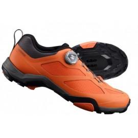 Zapatillas Shimano mtb MT700 naranja hombre