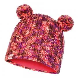 Gorro lana/polar Buff Lera rosa niña