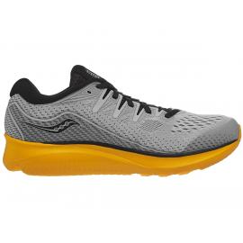 Zapatillas running Saucony Ride ISO 2 gris/amarillo hombre