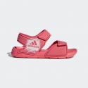 Sandalia adidas Altaswim C rosa niña