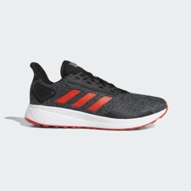 Zapatillas running adidas Duramo 9 negro/rojo hombre