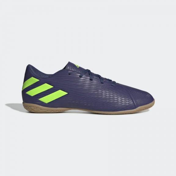 Higgins mezcla relajado  Zapatillas fútbol adidas Nemeziz Messi 19.4 azul/fluor - Deportes Moya
