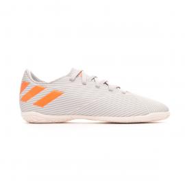 Zapatillas fútbol adidas Nemeziz 19.4 IN gris/naranja