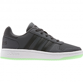 Zapatillas adidas Hoops 2.0 K gris/negro junior