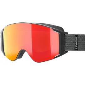 Mascara esquí Uvex G Gl 3000 To negro mate rojo espejo