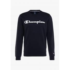 Sudadera Champion 213479 cuello caja azul marino hombre