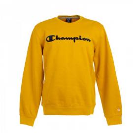 Sudadera Champion 213479 cuello caja amarillo hombre