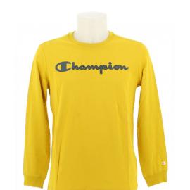 Camiseta Champion manga larga 213482 amarillo hombre