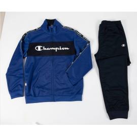 Chándal Champion 305100 azul niño