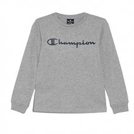 Camiseta Champion cuello caja 213489 gris hombre