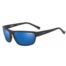 Gafas Arnette Borrow negro mate lente azul
