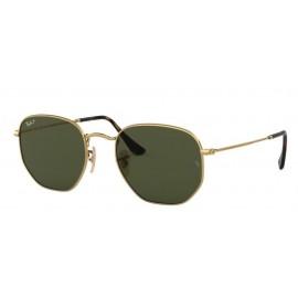 Gafas Ray-Ban Rb3548N 001/58 51 Hexagonal oro