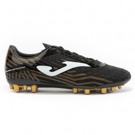 Zapatillas fútbol Joma Propulsion AG 2001 negro/dorado hombr