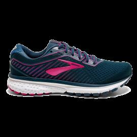 Zapatillas running Brooks Ghost 12 azul/rosa mujer