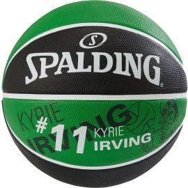 Balón baloncesto Spalding NBA Kyrie Irving Celtics verde/neg