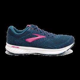 Zapatillas running Brooks Revel 3 azul/rosa mujer