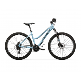 Bicicleta Conor 6300 Disc 27.5 celeste mujer