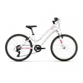 """Bicicleta Conor 440 24"""" Lady  blanco-rosa"""