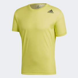 Camiseta training adidas FreeLift CL amarillo hombre