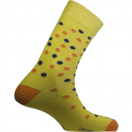 Calcetines Mund Fiction lunares amarillo unisex