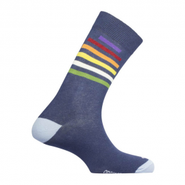 Calcetines Mund Fiction Rainbow marino unisex