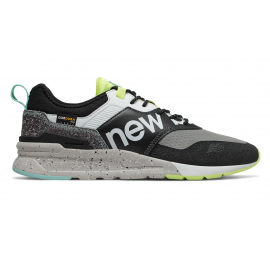 Zapatillas New Balance CMT997HD gris/negro/fluor hombre