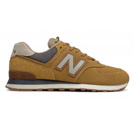 Zapatillas New Balance ML574SOI marrón hombre