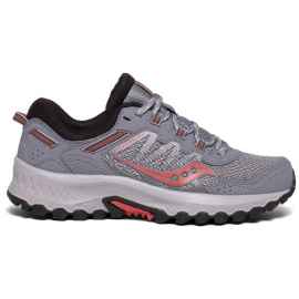 Zapatillas trail Saucony Versafoam Excursion TR13 gris/coral