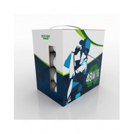 Caja de 48 bolas de golf recicladas MIX