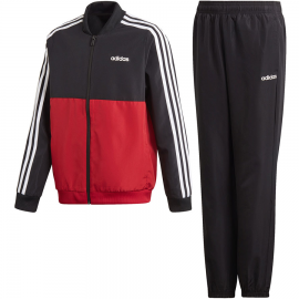 Chándal adidas YB TS Woven rojo/negro junior