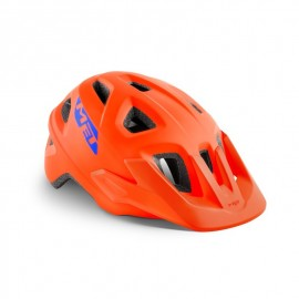 Casco Met Eldar naranja junior Mtb